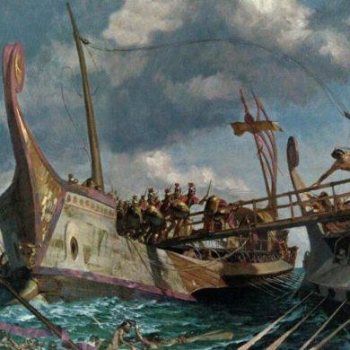 Isole Egadi - rinvenuti importanti reperti in mare, risalenti alla prima guerra punica.
