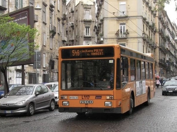 Napoli 6000 revisioni Bus falsificate