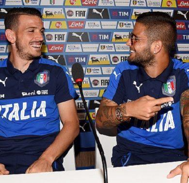 Florenzi ed Insigne due giovani del vivaio protagonisti di Roma vs Napoli