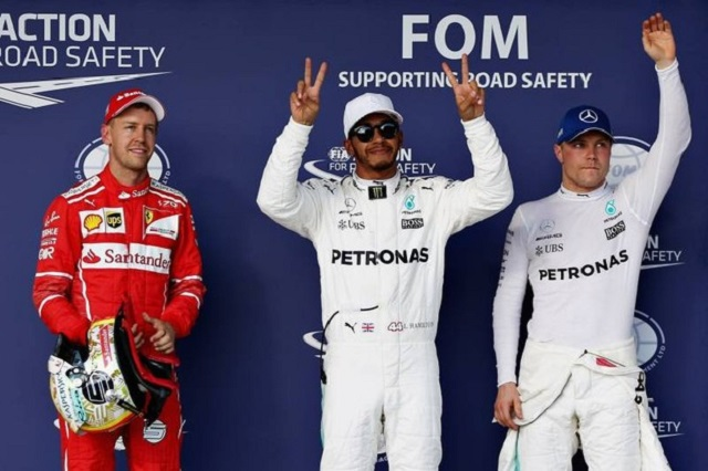Formula 1 Gp Usa: Hamilton pole, Vettel secondo, Bottas terzo