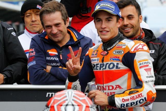 GP Australia di MotoGp: Marc Marquez, si aggiudica la corsa, Rossi secondo, Vinales terzo