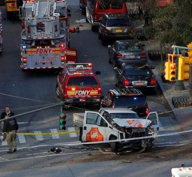 New York Manhattan Terrorista isolato compie strage di ciclisti
