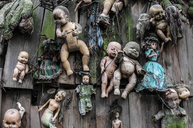 Messico isola delle bambole