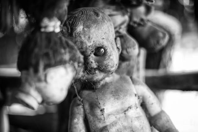Messico isola delle bambole -il fotografo david marrone