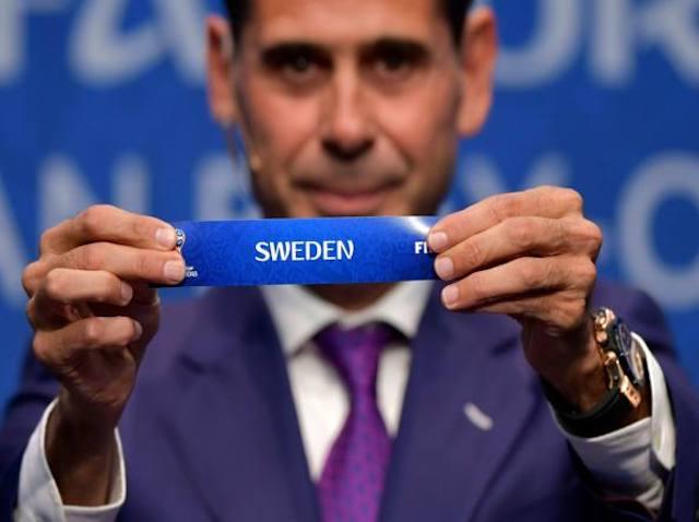 playoff andata Svezia vs Italia