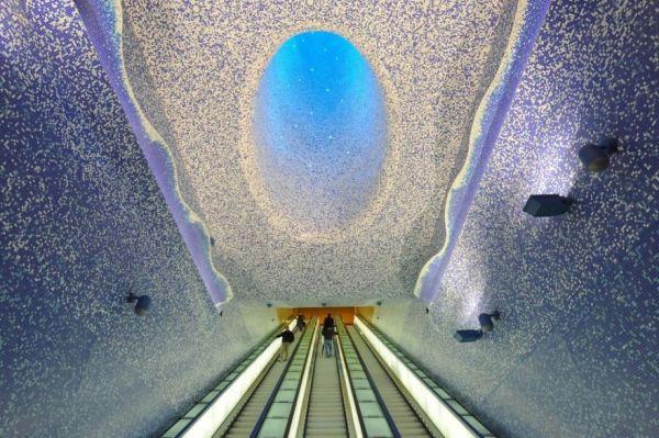 Metro Art tour Napoli