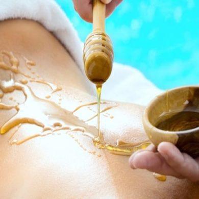 Massaggio al miele, rimedio russo-tibetano, benefici corpo, mente-1