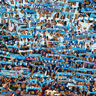 i tifosi azzurri