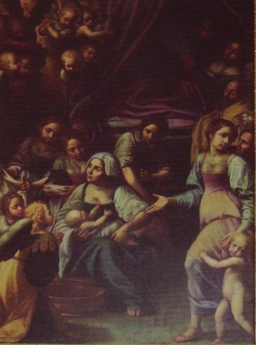 Giovan Antonio D'Amato, pittore devozionale, perla patrimonio artistico napoletano e giuglianese-1