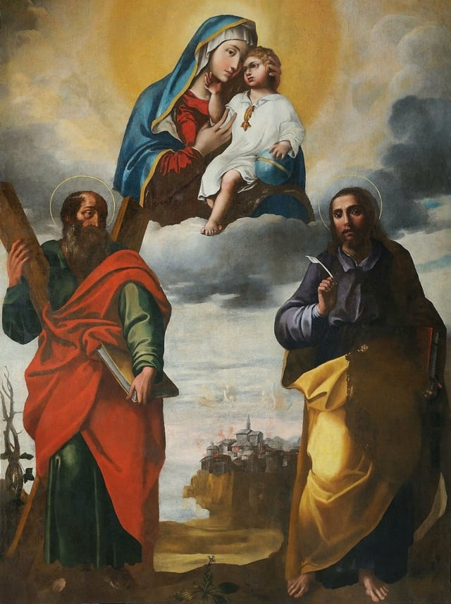 Giovan Antonio D'Amato, pittore devozionale, perla patrimonio artistico napoletano e giuglianese-2