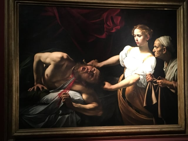 Nuove sale dedicate al Caravaggio, aperte ieri, agli Uffizi di Firenze-2
