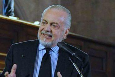 Il presidente del Napoli