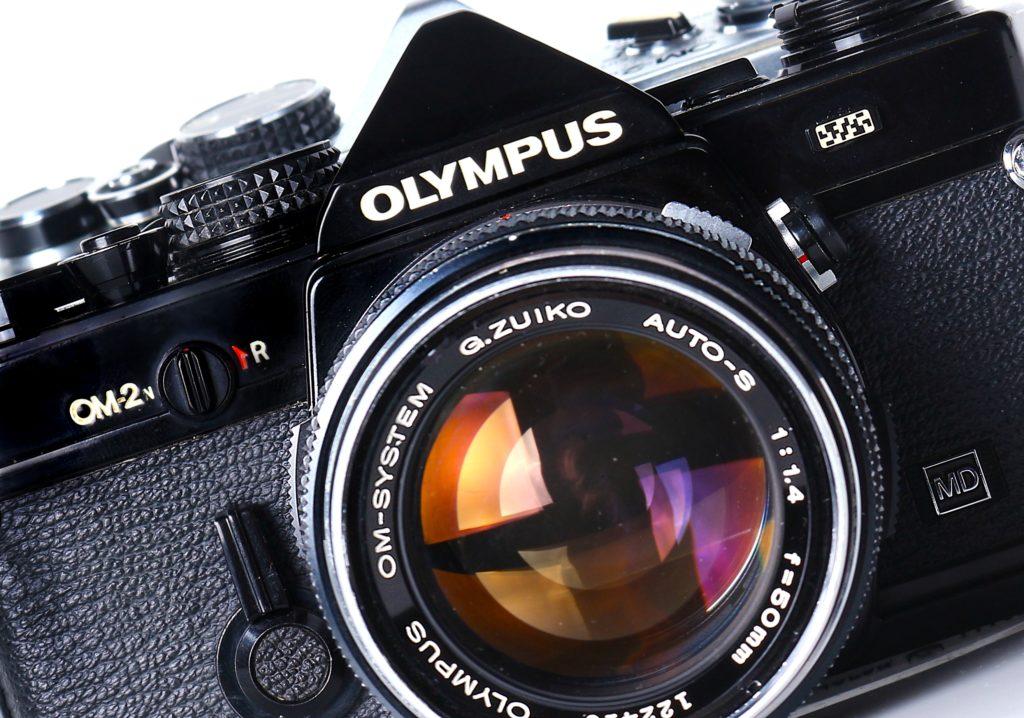 Olympus om2 obiettivo Zuiko
