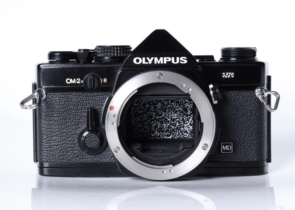 olympus OM2 nera - computogramma