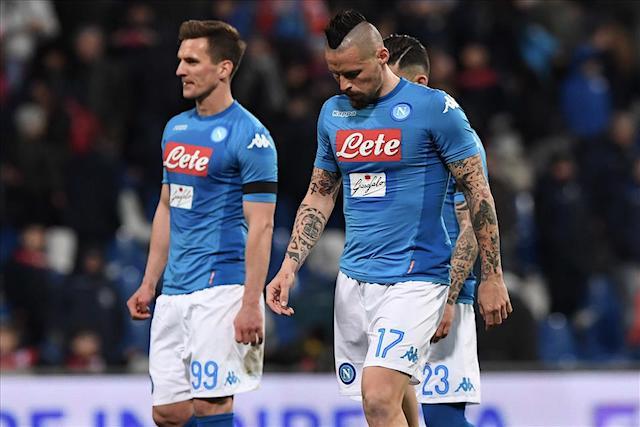 Il Napoli si è fermato a Firenze