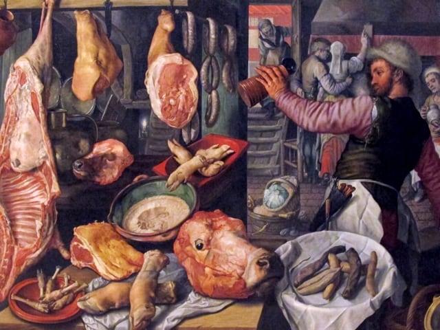 Joachim Beuckelaer, pittore fiammingo dal gusto popolare di cui 5 dipinti sono custoditi nel Museo di Capodimonte-1