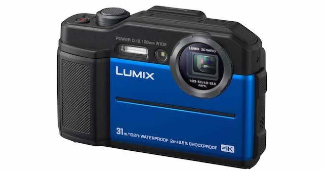 Panasonic Lumix FT7 presentata la nuova fotocamera per gli appassionati del out door