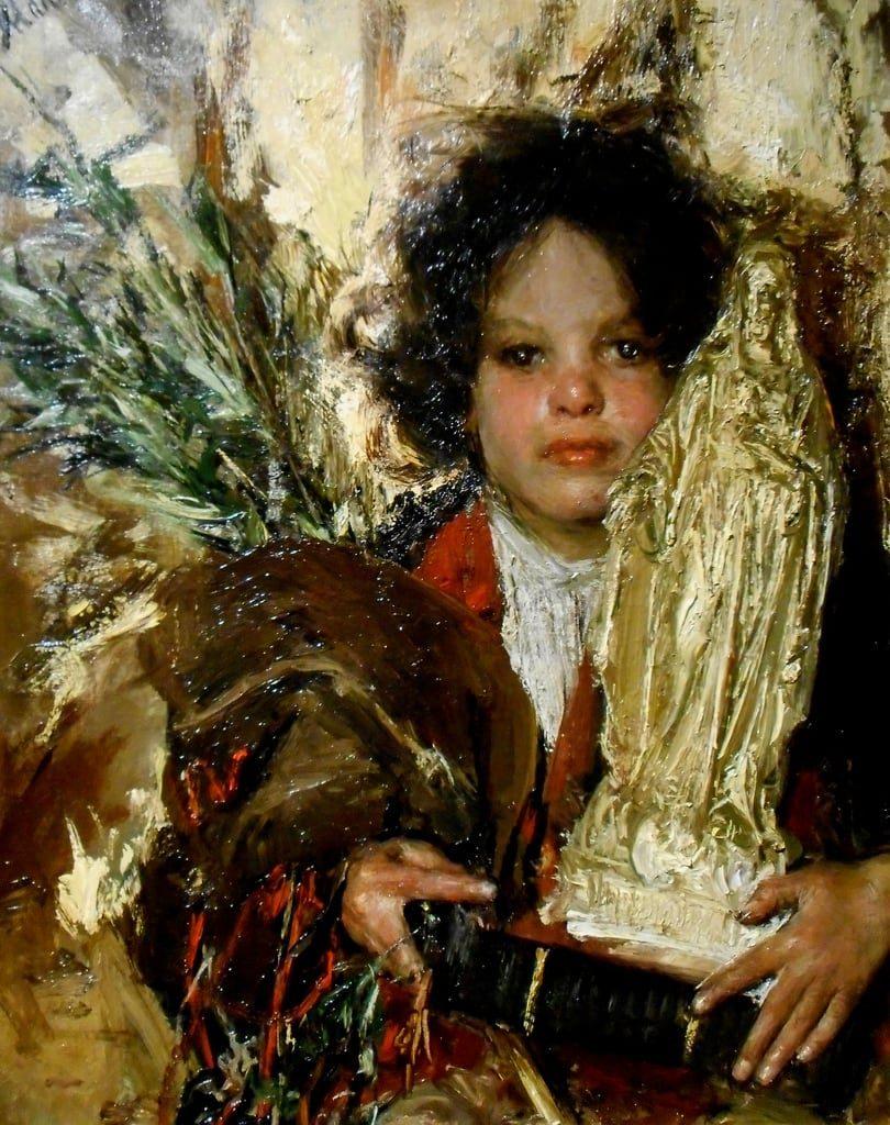 Antonio Mancini, uno dei più illustri pittori dell'Ottocento italiano-1