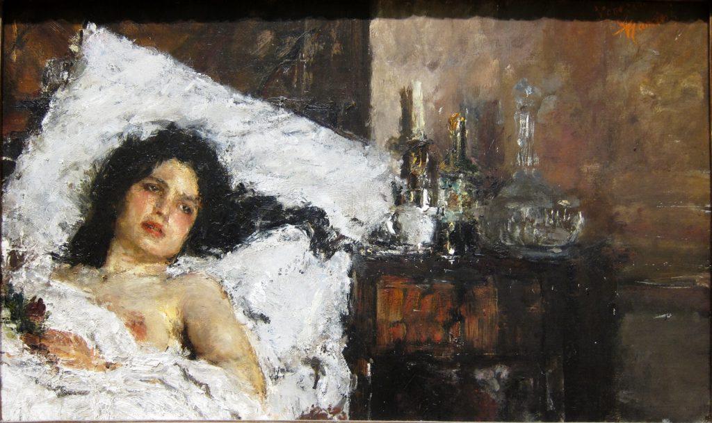 Antonio Mancini, uno dei più illustri pittori dell'Ottocento italiano-2