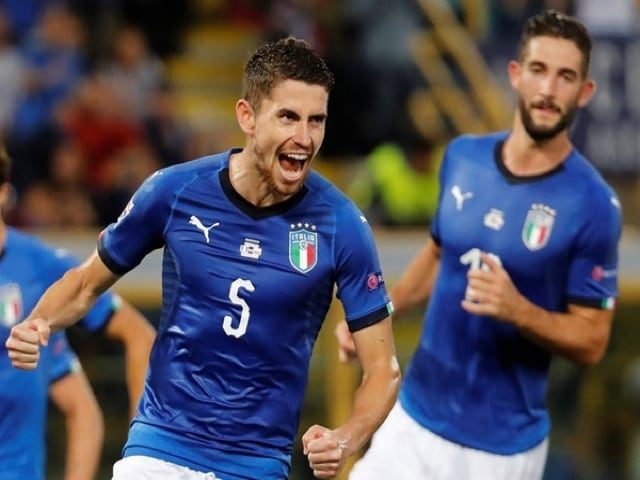 Jorginho salva l'Italia dalla sconfitta