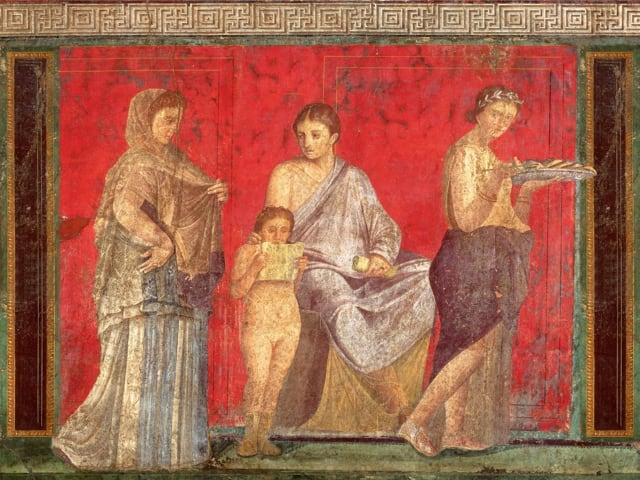 L'antica moda femminile pompeiana