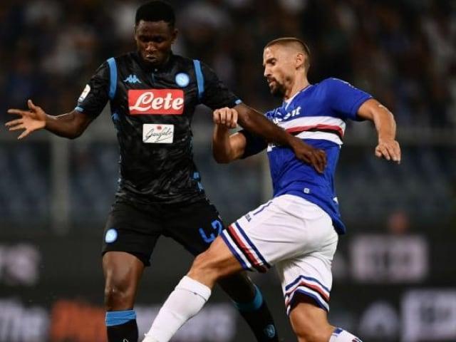 Pesante sconfitta del Napoli a Genova contro la Sampdoria