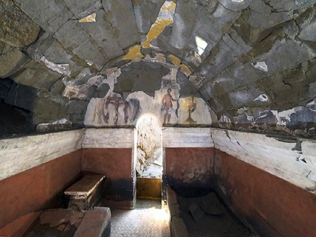Straordinaria scoperta al Parco Archeologico di Cuma