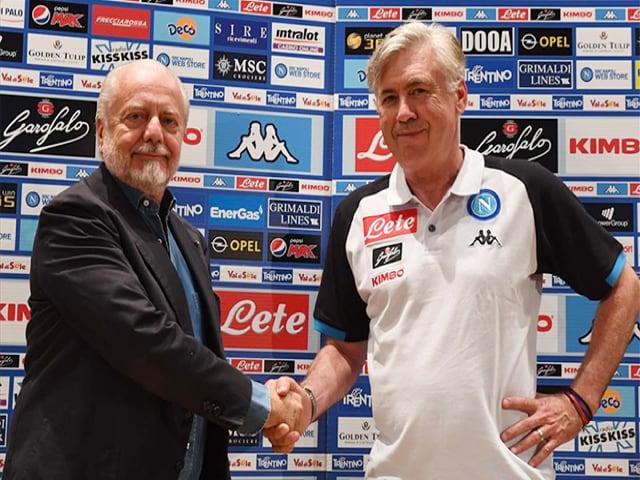 De Laurentiis, molto colpito dal nuovo tecnico, vuole allungare il contratto di Ancelotti a sei anni-1