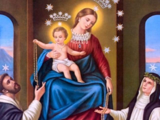 La devozione alla Vergine del Rosario di Pompei, una tradizione del mese di ottobre e maggio