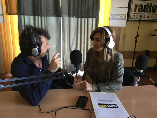 Napoli fashion on the road incontro a Radio Crc con Mariangela Chianese-1
