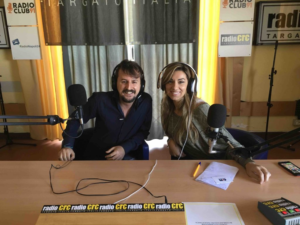 Napoli fashion on the road incontro a Radio Crc con Mariangela Chianese-2