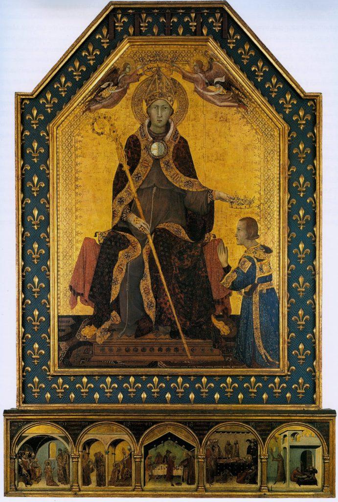 Simone Martini, pittore senese del XIV secolo al servizio degli Angioini a Napoli-2