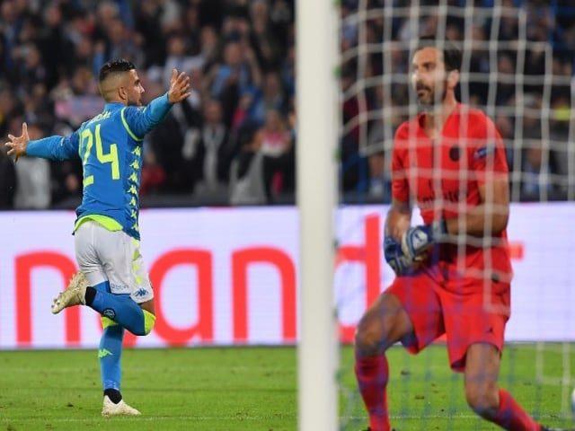 Napoli - Paris Saint Germain finisce 1-1, Insigne risponde a Bernat su rigore, qualificazione apertissima-1
