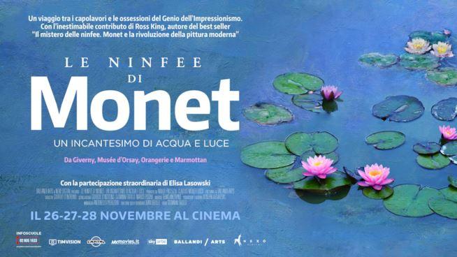 Napoli, al cinema Le Ninfee di Monet tra colore e natura, il film di Gianni Trolio sulla storia del famoso dipinto-1