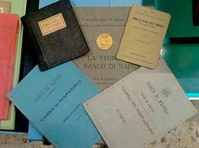 Banco di Napoli Documenti e libretti d'epoca
