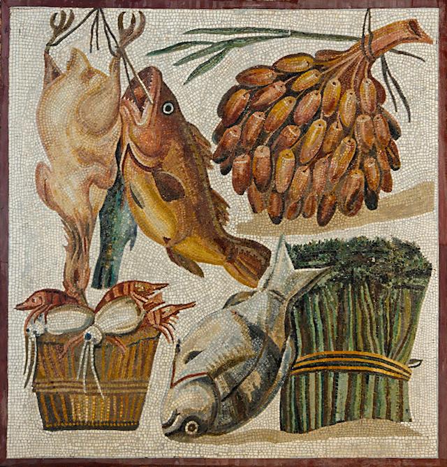 Gli antichi romani cosa mangiavano nei loro banchetti for Antiche ricette romane