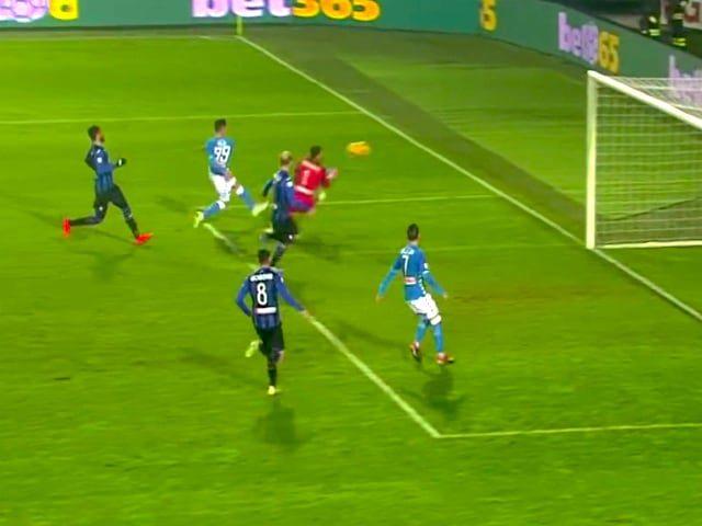 Arek Milik riporta il Napoli a - 8 dalla Juve, il polacco all'85esimo realizza il 2 a 1 azzurro-1