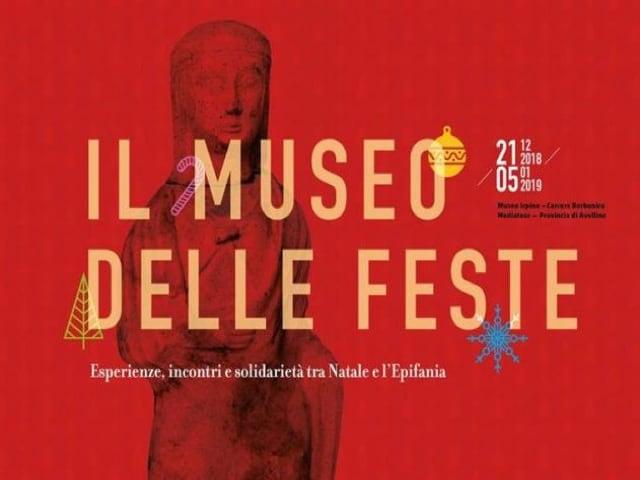 Avellino Museo delle Feste dal 21 dicembre al 5 gennaio 2019-1