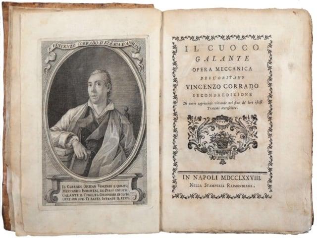 Vincenzo Corrado, il cuoco galante del diciottesimo secolo operante a Napoli-1