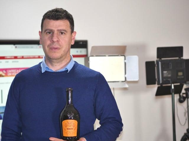 Mario Cipriano, titolare di Karma, brand di birra artigianale nel cuore dell'alto Casertano-1