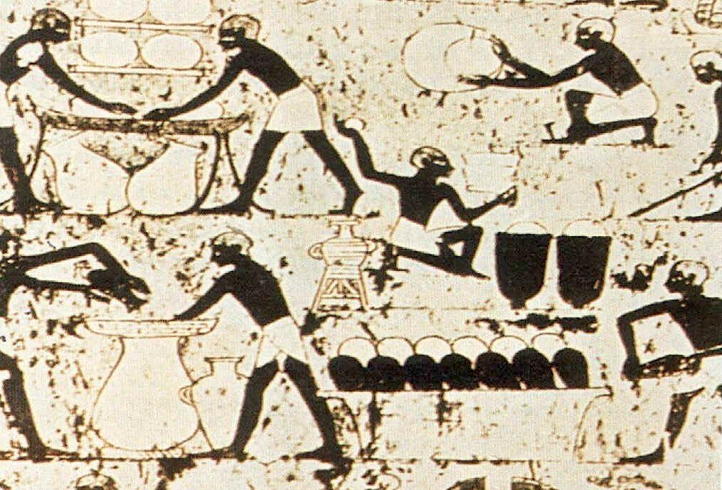 Birra nell'antico Egitto importante simbolo di potere divino-2