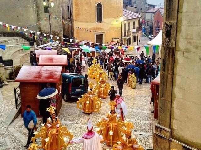 Torna il Carnevale delle culture a Montemarano, Avellino-1