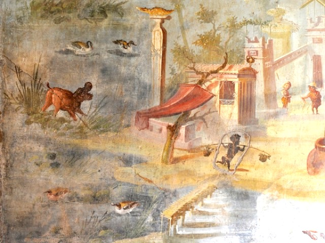 Pompei ha riaperto al pubblico la casa dei Pigmei-1