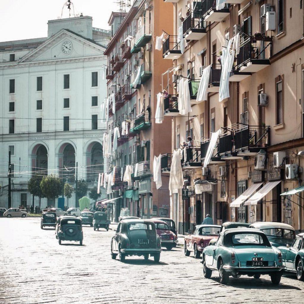 Ritorna L'amica geniale ciak a Piazza Carlo III-1