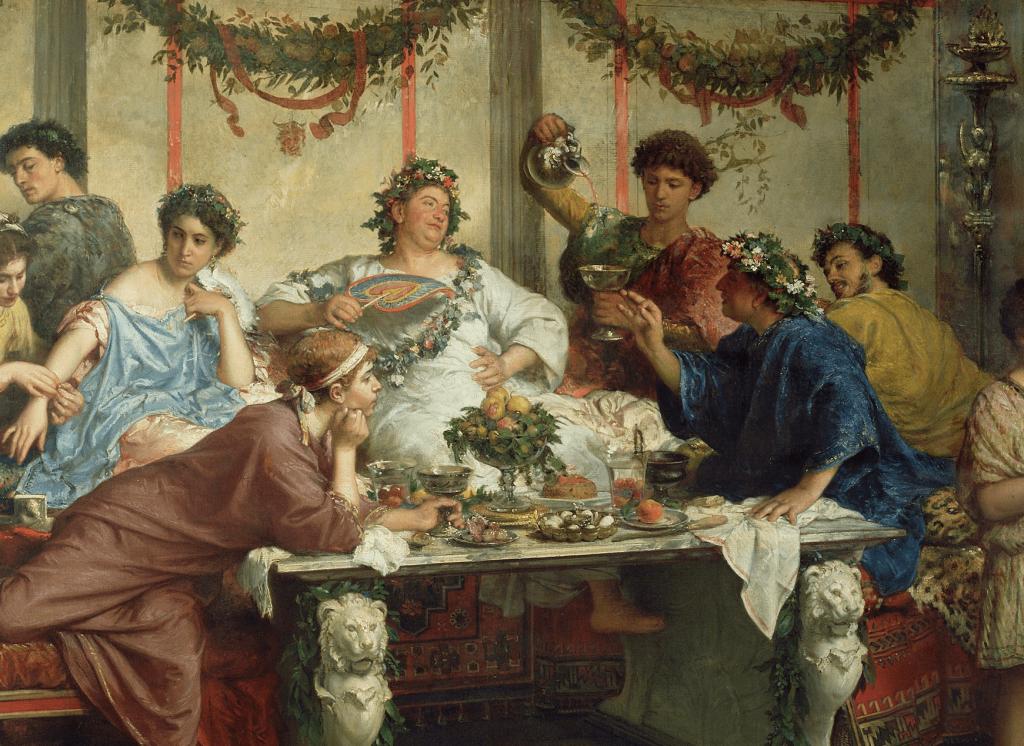 A tavola con gli antichi Romani, saggio storico, al MAV di Ercolano, sabato 18 maggio-2