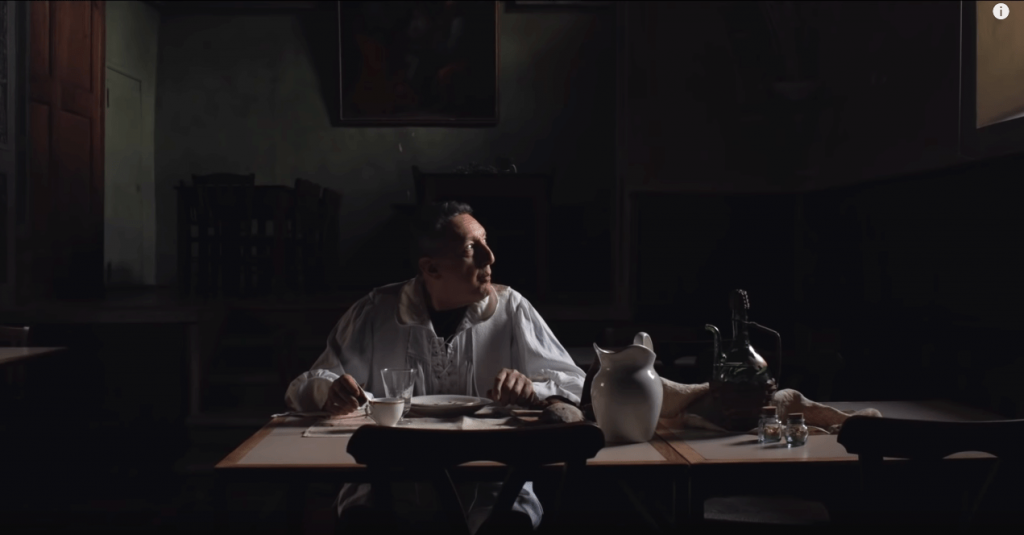 Dentro Caravaggio, docufilm, sul genio della pittura italiana-1
