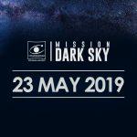 """Mission Dark Sky Global .Il 23 maggio 2019 """"inizieremo a far luce sull'inquinamento luminoso""""."""