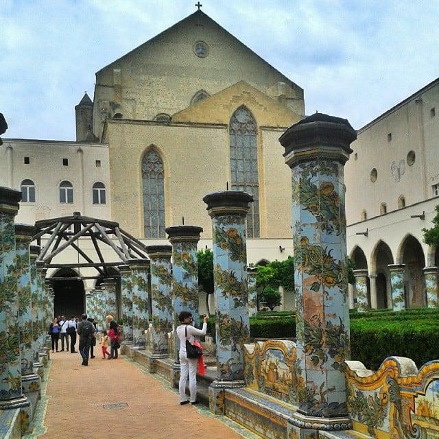 Napoli, incontri letterari nel suggestivo scenario del Chiostro di Santa Chiara-2