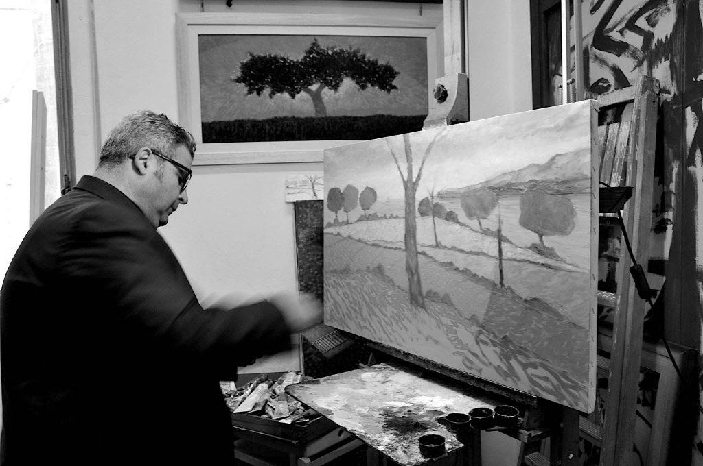 Alfredo Cordova in studio