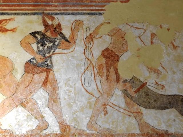Gli Etruschi e l'aldilà tra azioni brutali, sesso e danze erotiche-1
